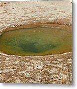 Ephedra Spring In West Thumb Geyser Basin Metal Print
