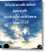 Ephesians Four Thirtyone And Two Metal Print