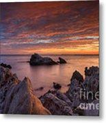 Epic California Sunset Metal Print by Marco Crupi