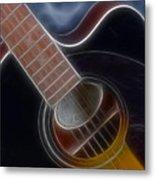 Epiphone Acoustic-9481-fractal Metal Print