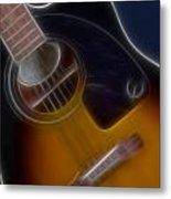Epiphone Acoustic-9484-fractal Metal Print