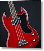 Epiphone Sg Bass-9189 Metal Print