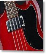 Epiphone Sg Bass-9193 Metal Print