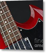 Epiphone Sg Bass-9205 Metal Print