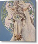 Epona The Great Mare Metal Print