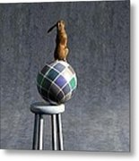 Equilibrium II Metal Print by Cynthia Decker