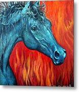 Equus Diabolus Diablo Metal Print