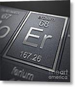 Erbium Chemical Element Metal Print