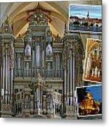Erfurt Organ Montage Metal Print