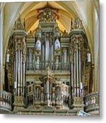 Erfurt Pipe Organ Metal Print