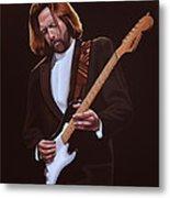 Eric Clapton Painting Metal Print