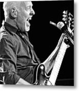 Eric On Black Metal Print