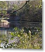 Erie Canal At Bushnell Basin Metal Print