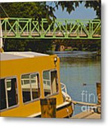 Erie Canal At Pittsford Ny Metal Print