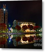 Erie Canal In Pittsford Ny Metal Print