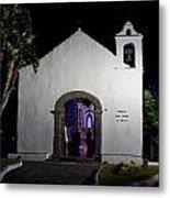 Ermita San Telmo. Puerto De La Cruz By Night Metal Print