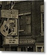 Ernest Tubb Record Shop Metal Print