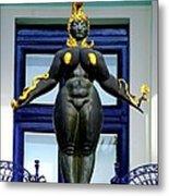Ernst Fuchs Museum Nude Statue Metal Print