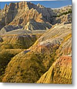 Eroded Buttes Badlands National Park Metal Print