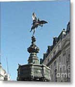Eros At Piccadilly Metal Print