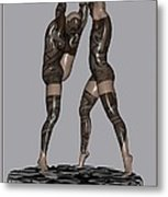 erotic acrobatics 2EA 1 Metal Print by Pemaro