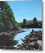 Erriff River Metal Print