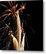 Eruptions In The Night Metal Print