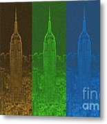 Esb Spectrum Metal Print