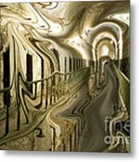 Escape From Cell Block Seven Metal Print