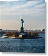 Escape From Ny Metal Print