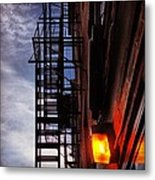 Escape In Boston Metal Print