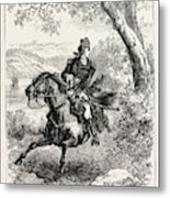 Escape Of Benedict Arnold, 1740-1801 Metal Print