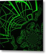 Escaping The Matrix Metal Print