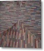Escher Joins The Masons Metal Print