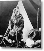 Eskimo Woman Metal Print