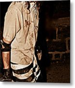 Esp Escaped Prisoner Zombie Metal Print