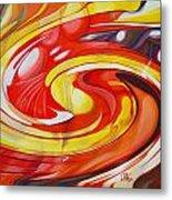Espiral De Colores Metal Print