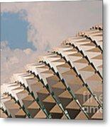 Esplanade Theatres Roof 01 Metal Print