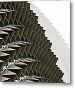 Esplanade Theatres Roof 10 Metal Print