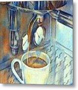 Espresso Machine 3 Metal Print