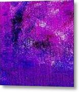 Essay Star Pink Blue Metal Print