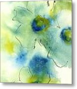 Essence Of Poppy II Metal Print