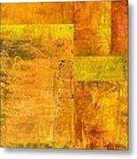 Essence Of Yellow Metal Print