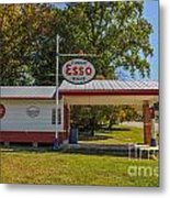 Esso Dealer Metal Print