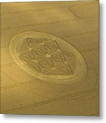 Etchilhampton Crop Formation 2011 Metal Print