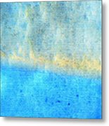 Eternal Blue - Blue Abstract Art By Sharon Cummings Metal Print