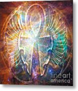 Eternal Wings Metal Print