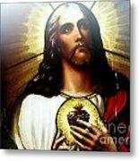 Ethereal Jesus Metal Print