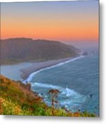 Ethereal Sunset Metal Print