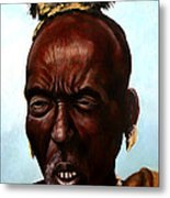 Ethiopian Elder 3 Metal Print